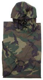 Poncho Militar US Woodland