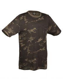 T-Shirt Algodão MC black