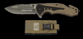 Canivete K25 Rescue  Coyote 8,7 cm