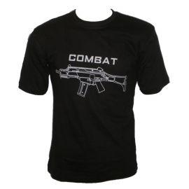 T-Shirt  Combat  G36 Preta