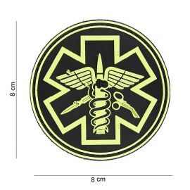 """Patch """" Para Medic"""" Amarelo"""
