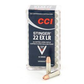 CCI .22LR Stinger EX Varmint