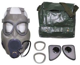 Máscara de Gás Checa Tipo M10 com válvula hidratação