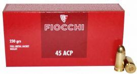 Fiocchi Classic Cal. .45 ACP FMJ 230grs.
