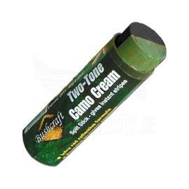 Camouflage Cream Stick Verde/Preto