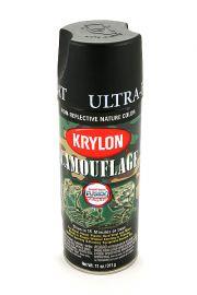 Krylon Camouflage Black